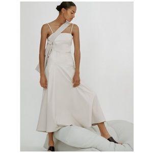 NWT Zara faux leather dress